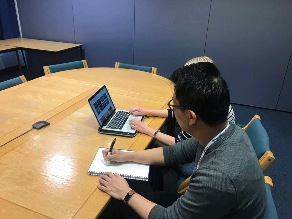 experee user testing in users office