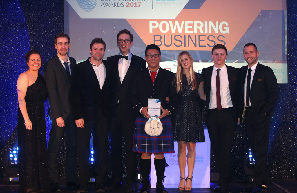 The Herald Scottish Digital Business Awards winners ScotlandVR